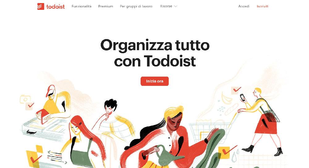 Estensione per Chrome Todoist