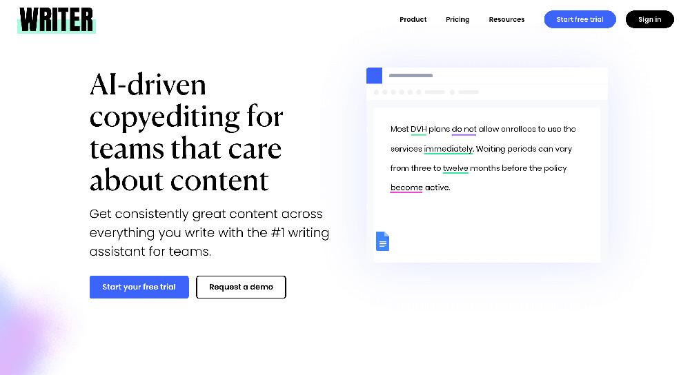 Writer.com e gli strumenti di controllo grammaticale