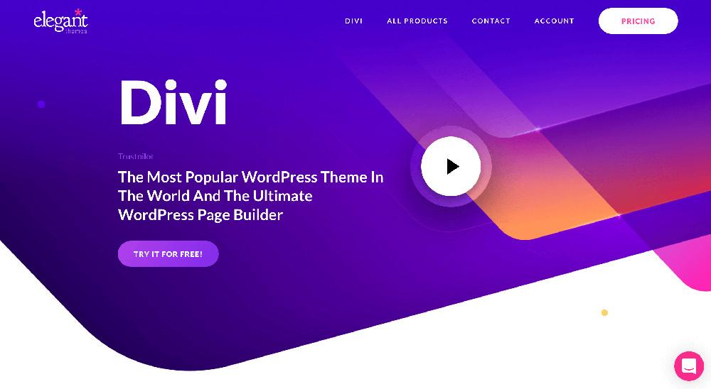 Divi e i migliori website builder