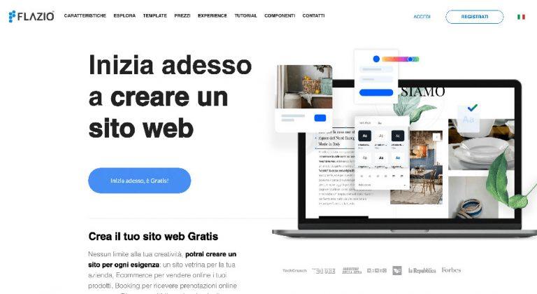 Flazio e i migliori website builder