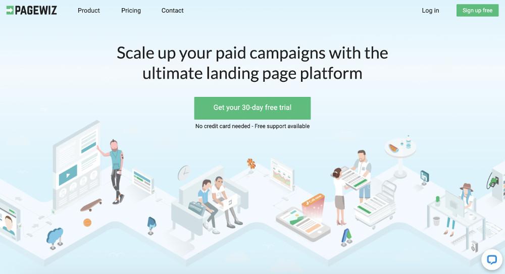 Pagewiz e i migliori strumenti per creare landing pages