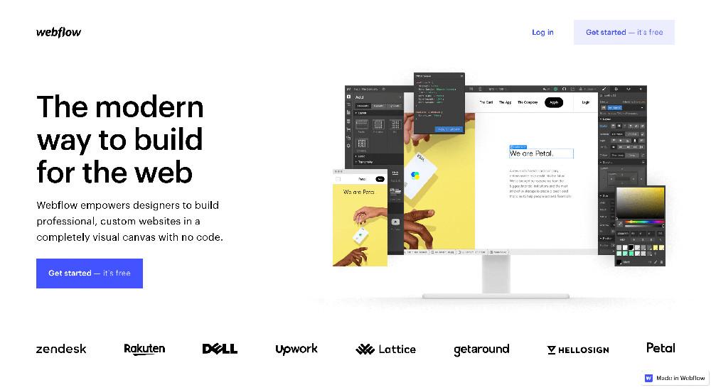 Webflow e i migliori website builder