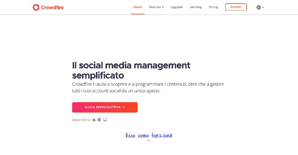 Crowdfire e i migliori strumenti per la gestione dei social network