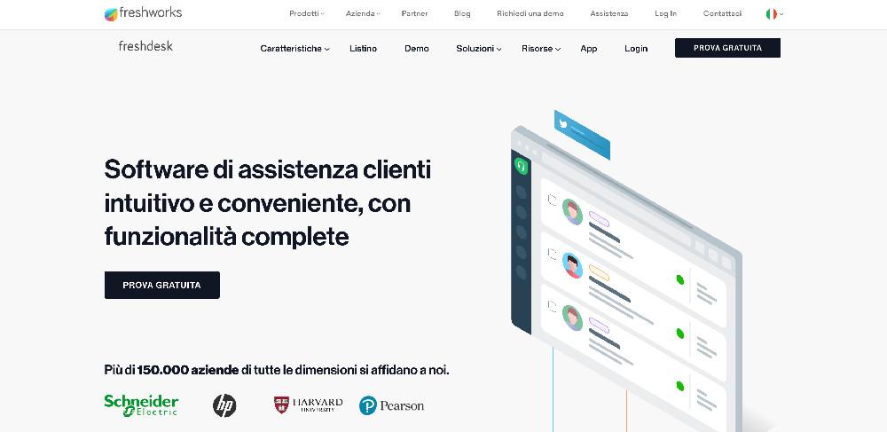 Freshdesk e i migliori strumenti per l'assistenza clienti