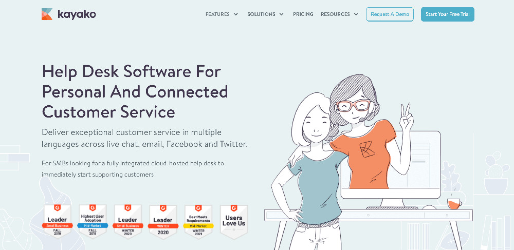 Kayako e i migliori strumenti per l'assistenza clienti