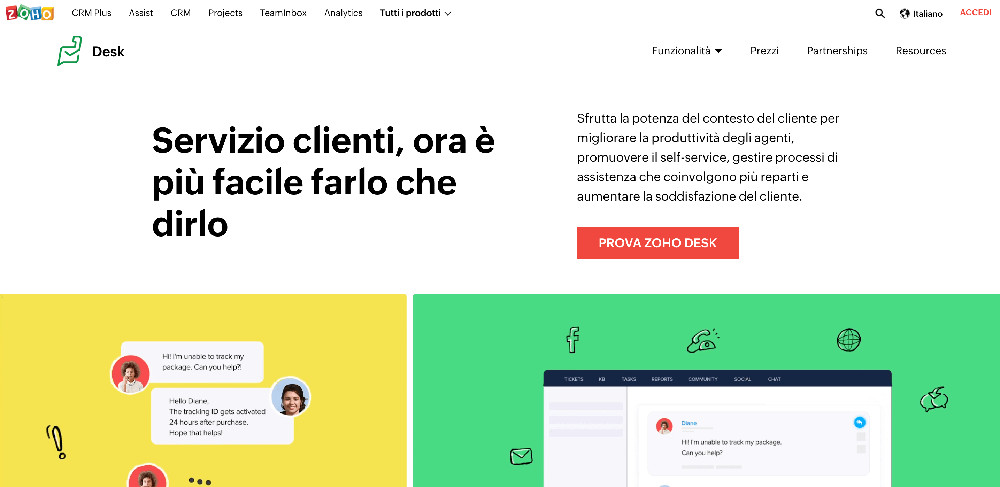 Zoho Desk e i migliori strumenti per l'assistenza clienti