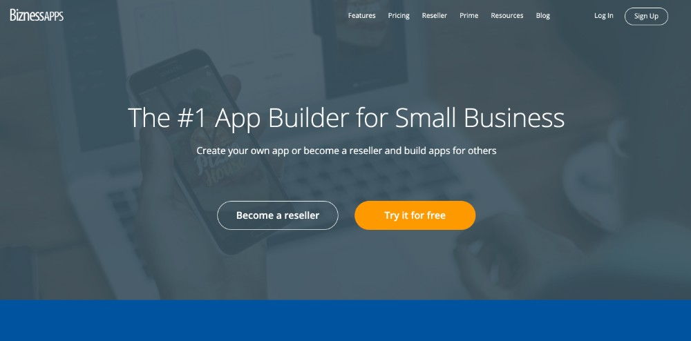 Bizness Apps ed i migliori software per creare applicazioni per cellulare