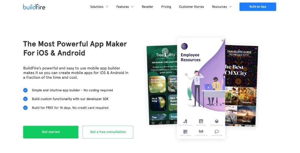 Buildfire ed i migliori software per creare applicazioni per cellulare