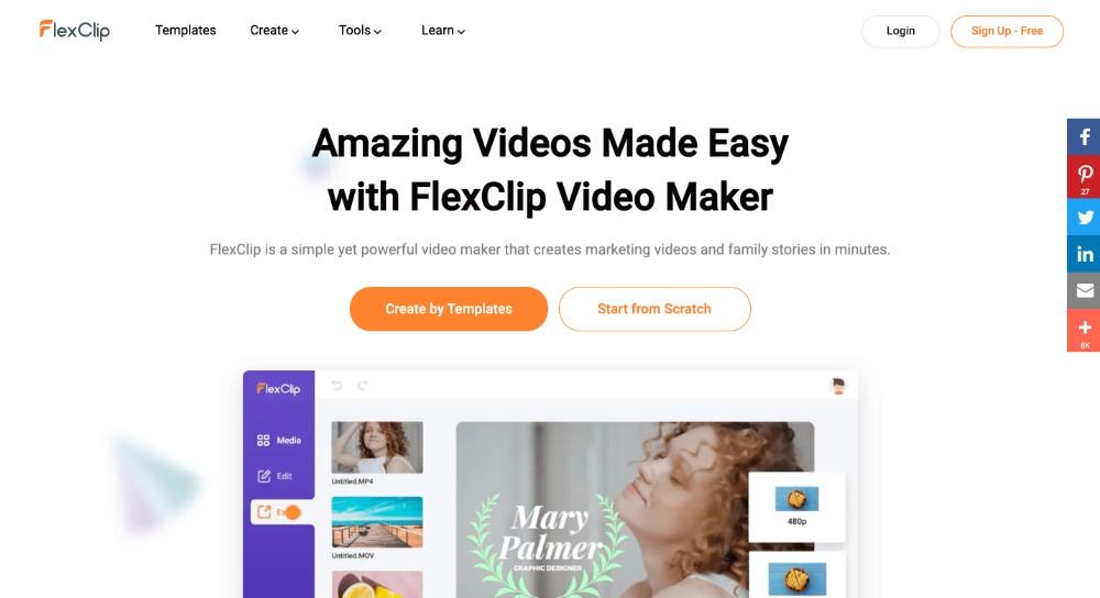 FlexClip ed i migliori strumenti per fare video