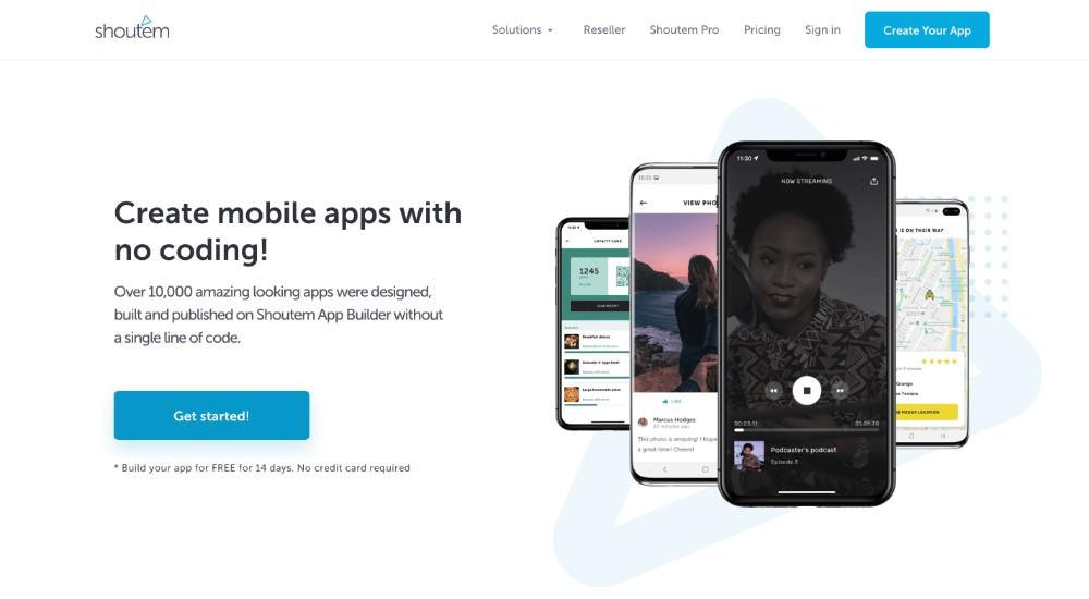 Shoutem ed i migliori software per creare applicazioni per cellulare