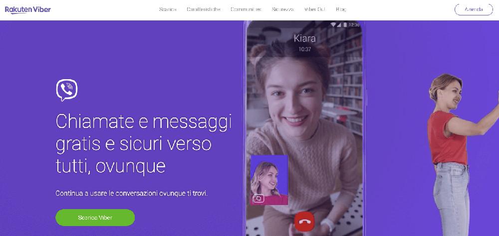 Usare viber come chat alternativa a WhatsApp