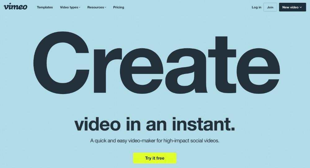 Vimeo Video Maker ed i migliori strumenti per editare video